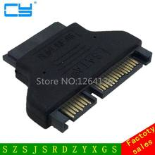 SATA 22 Male to Slimline SATA 13 Female Laptop CD ROM Convertor Adapter