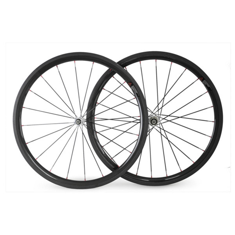 700C 38C 23mm width Carbon 38mm Clincher Wheelset Carbon Fiber Road Bike Wheels Carbon Clincher Wheels