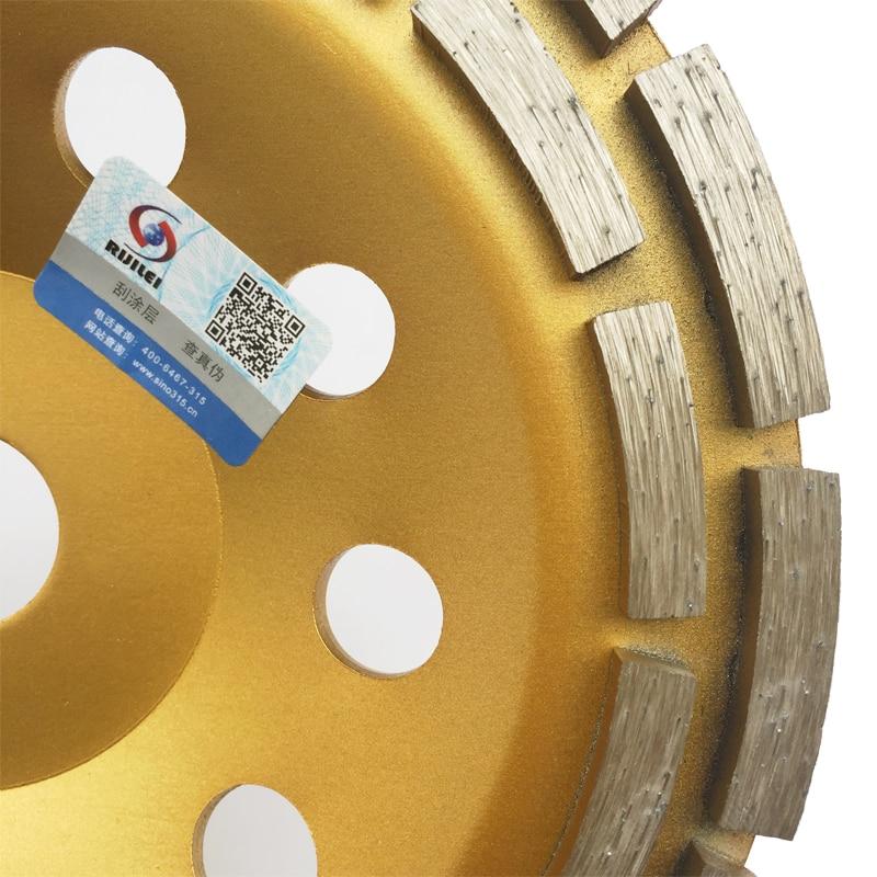 7 colių dvigubos eilės deimantinio šlifavimo disko diskai, 180 mm - Elektriniai įrankiai - Nuotrauka 4