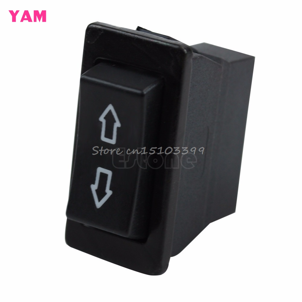 Universal 6 Pin Car Power Window Switch Lamp ON//OFF SPST Rocker
