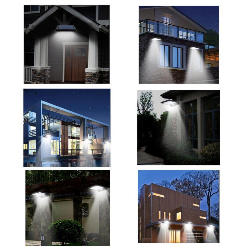 2 PCS 36 LED Solar Motion Sensor Lights Garden Safety engery saving Lights  modern outdoor decoration lighting fixturePopular Outdoor Lighting Fixtures Motion Sensor Buy Cheap Outdoor  . Outdoor Sensor Lighting Fixtures. Home Design Ideas
