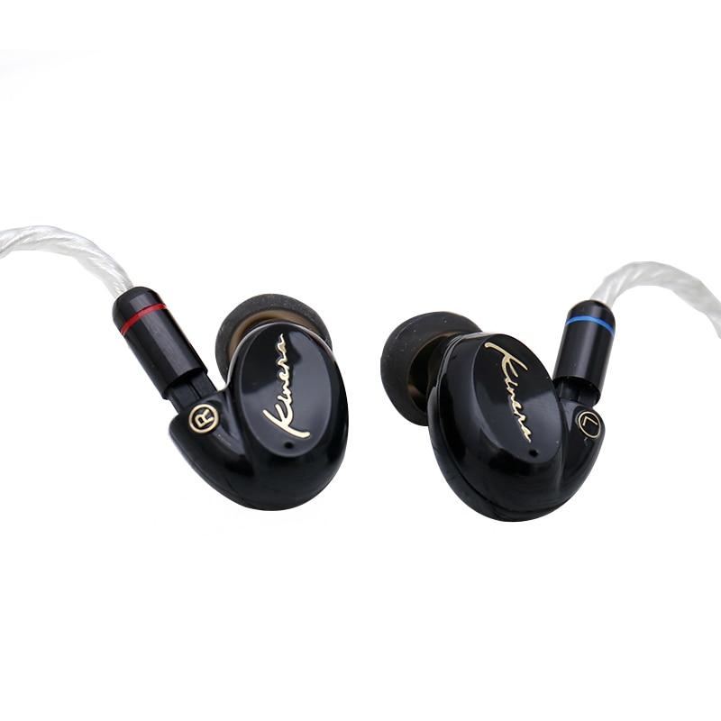 KINERA SEED BA+DD Hybrid Driver HiFi Music Monitor In-ear Earphone with 2pin/0.78mm Detachable Cable Earphones trn v80 quad driver hybrid hifi in ear monitor earphone carbon nanotubes iem 2pin 0 75mm detachable cable sport earphones