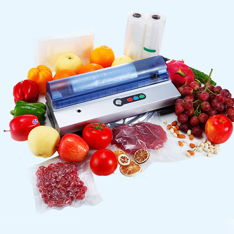 220V Vacuum Sealer Best Household Food Preservation Vacuum Sealer Home Kitchen