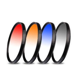 "Image 4 - UV CPL FLD מסנן צבע הדרגתי כוכב ND2 ND4 ND8 עדשת הוד כובע עבור Canon EOS M M2 M3 עם עדשות EF M 18 55 מ""מ 55 200 מ""מ מצלמה"