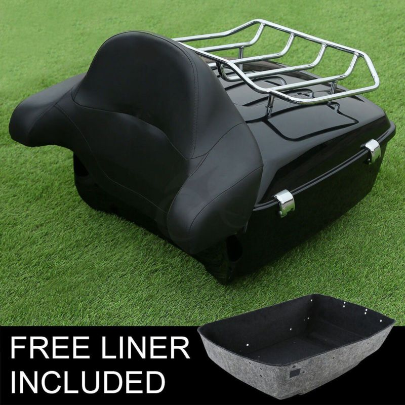 Motorcycle King Tour Pak pack Luggage Backrest For Harley