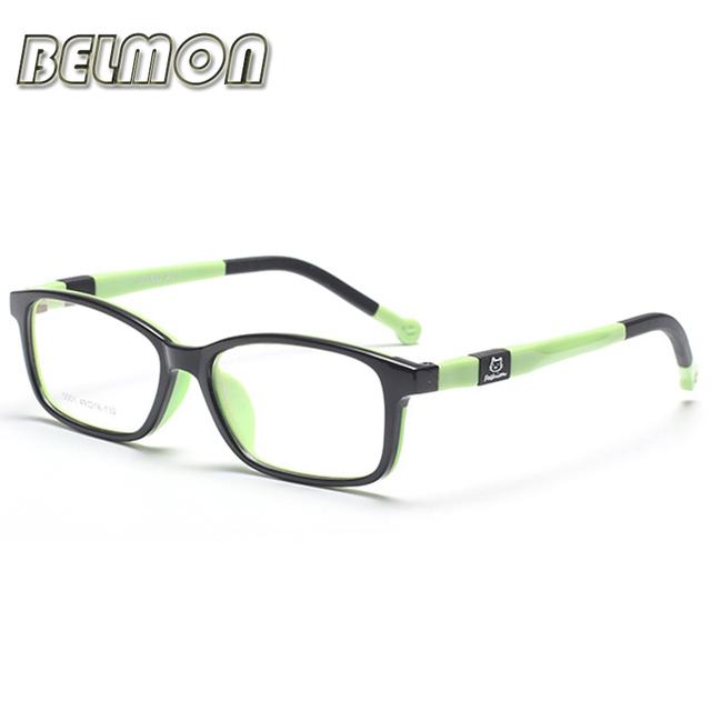 Estudiante moda Niños Niños Gafas Miopía Montura de gafas Gafas Marco Óptico Del Ordenador Para Bebés y Las Muchachas RS087
