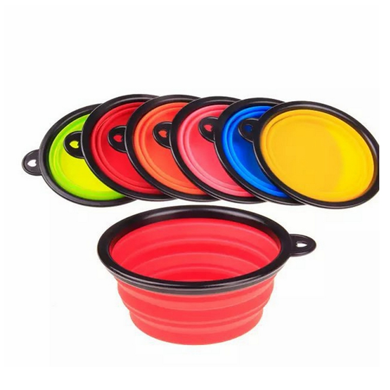 YKPuii Collapsible Silicone Bowl Food Container Dish