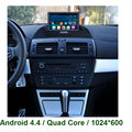 HD1024*600 Android CAR DVD GPS player For BMW X3 E83 2004 2005 2006 2007 2008 2009 2010 2011 2012 Radio stereo mp3 headunit WIFI