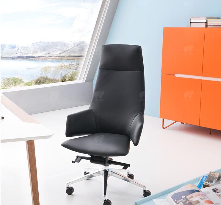 Aliexpress.com : Buy Leather Boss Chair Reclining Computer