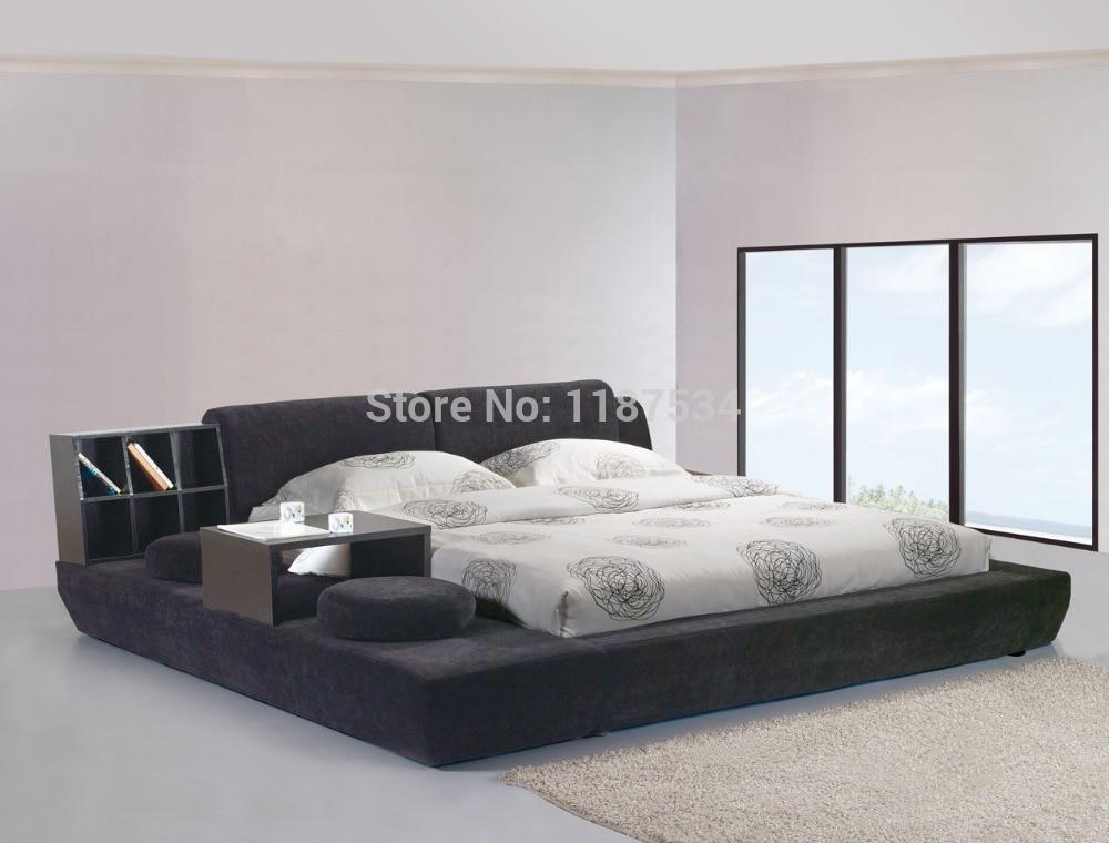 Moderne mobilier de chambre de luxe mobilier de chambre cadre de lit ...