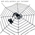 Besegad 5 Feet Giant Spider Web Black Stretchy Cobweb Novelty Toy Party Cosplay Halloween Decoration Horror Props Creative Toys