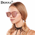 Donna Sunglasses Women Mirror Sun Glasses Big Oversized Round Cat Eye Driver Fishing Desinger Eyewear HD Lens