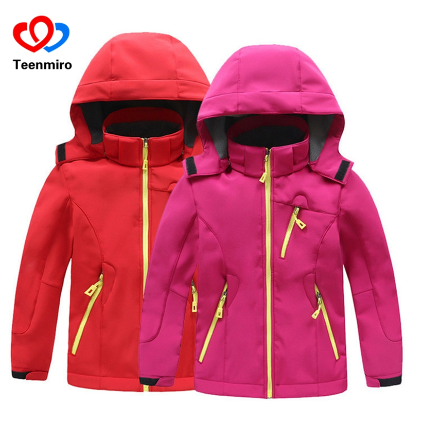 2018 Winter Thicken Boys Girls Jackets Children Outerwear Warm Sporty Hoodie Coats Kids Windproof Clothes Toddler Trench Coat baby children winter kids boys girls double side wear hoodie cloak baby clothes bebe poncho cape coat outerwear
