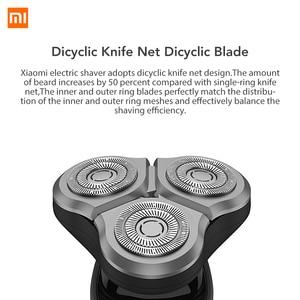Image 3 - شاومي Mijia الحلاقة الكهربائية Xiomi USB الشحن السريع Xaomi 360 درجة تعويم الحلاقة Xiami الحلاقة الكهربائية للرجال