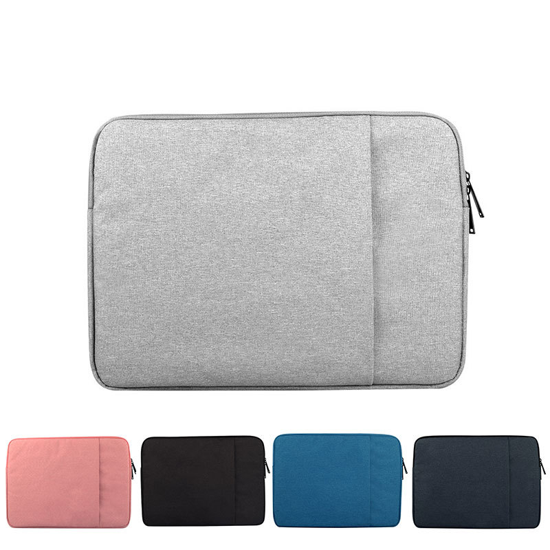 ZIMOON Laptop Sleeve Bag For Macbook Air 11 13 15 Notebook Case For Macbook Pro 13.3 15.4 Waterproof Pocket Bag Cover For Xiaomi