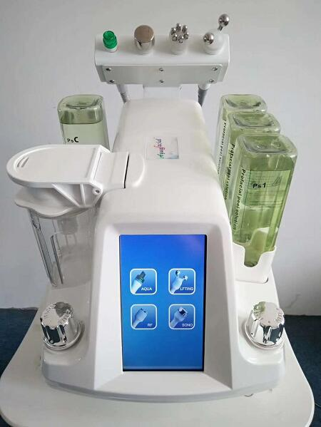 2019 Professional 4 In 1 Multifunction Korean Model Hydar Facial Hydra RF Bio Six Polar RF Spa Machine