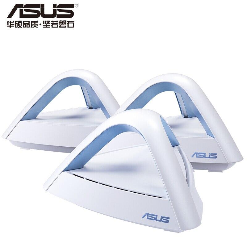 ASUS Lyra Trio AC1750 (3 paquets) routeurs réseau à mailles sans fil à double bande avec système WiFi à domicile