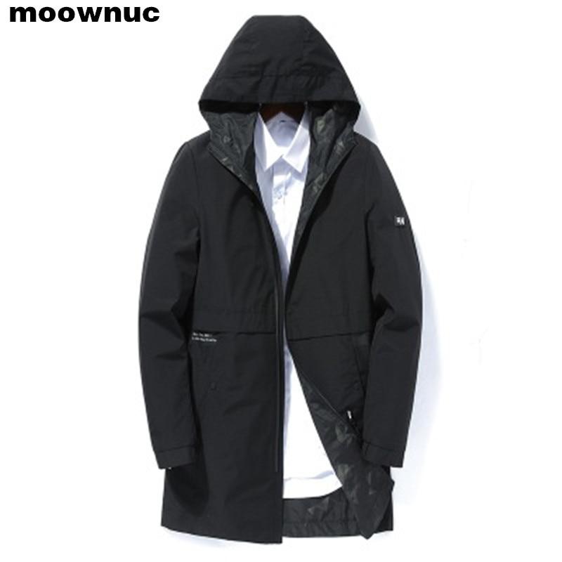 2019 spring autumn men's fashion casual hooded jackets Business High quality jacket men Windbreaker Coat mens Outwear