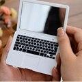 Creative Macbook воздушный стиль макияжа зеркало Mini Apple ноутбук составляют вверх милый портативная косметический зеркала
