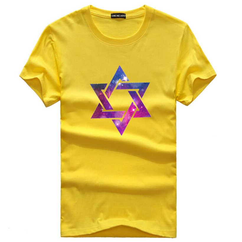 Kualitas tinggi Musim Panas Pria Fashion Payung pola pencetakan Lengan Pendek pria Lucu T Shirt Anak Laki-laki Katun T-shirt Tops Plus ukuran 5XL