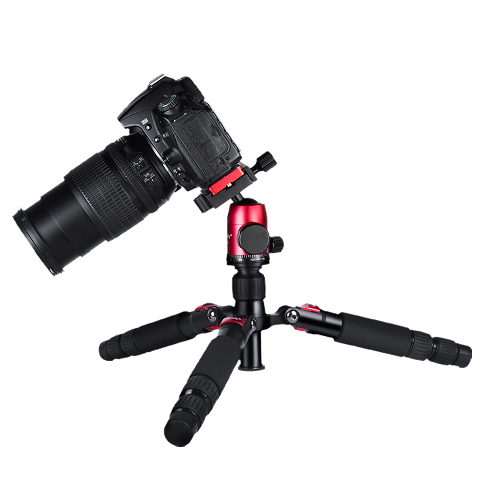 Image 2 - Manbily DT 02 mini tripod for mobile phone and camera macro shooting desktop video standLive Tripods
