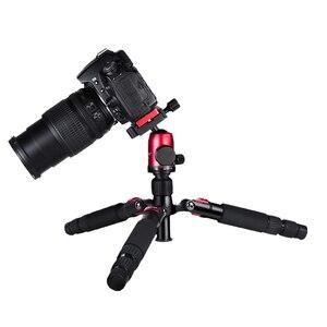 Image 2 - Manbily DT 02 מיני חצובה עבור טלפון נייד ומצלמה מאקרו ירי שולחן עבודה וידאו stand