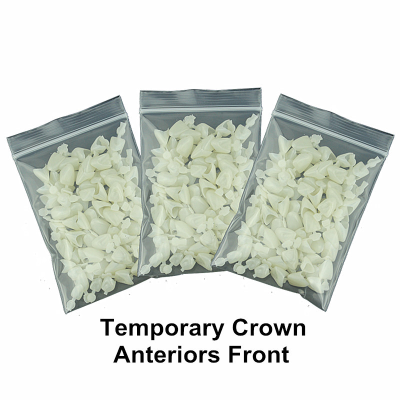 3 Packs Dental Material Mixed Type Tillfällig Crown Front Anterior - Munhygien