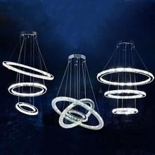 Nowoczesne LED kryształowe żyrandol światła Lampa do salonu Cristal Lustre żyrandole oświetlenie wisiorek wiszące lampy sufitowe tanie tanio Żyrandole 90-260v 120V 110V 220V 110-240V 230V 130V 240V 260v cy1288 Kryształowe żyrandole CE CCC Crystal Żarówki LED