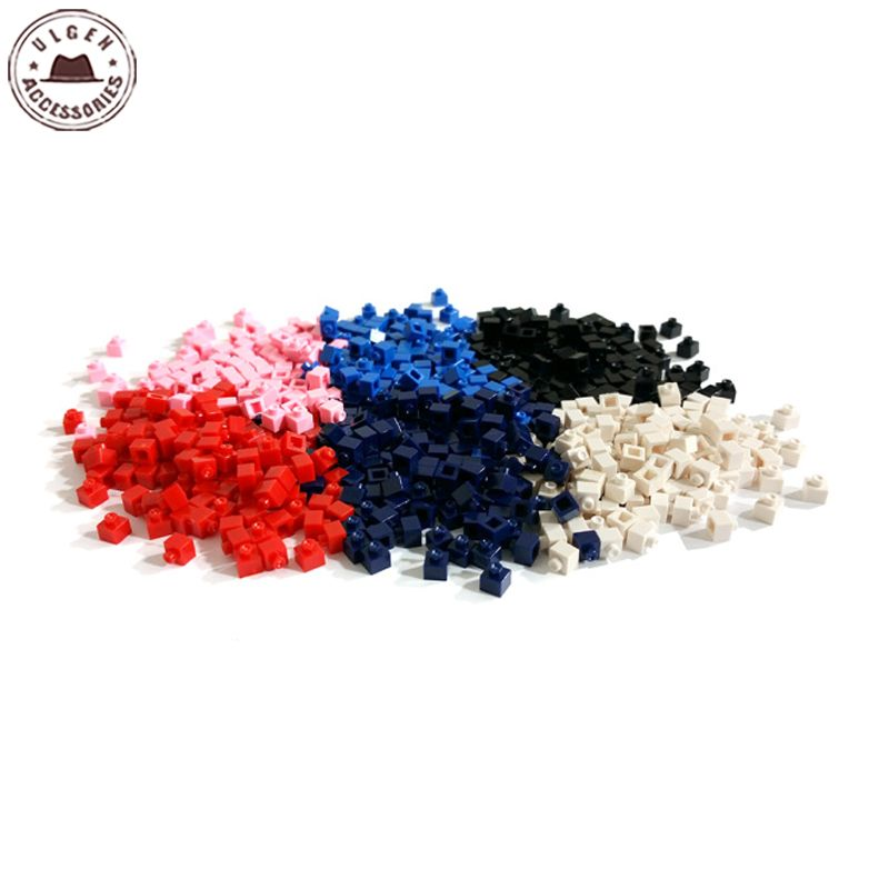 Colorful Brick Beads for Legos Baseball Cap DIY Hot Games Design Hats Accessories 13 Color hot sale beads