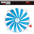 AlSEYE 20020 Blue led fan cooler 200mm fan for computer ATX  fan radiator 3 pin 600RPM 12v cooling fan