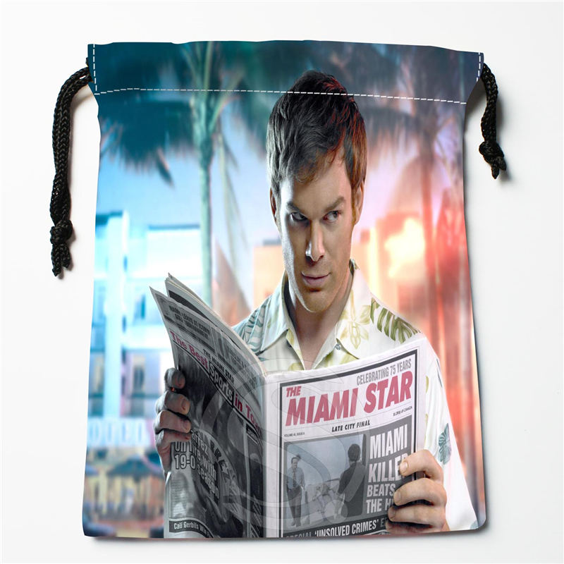 W-124 New Dexter Custom Logo Printed  Receive Bag  Bag Compression Type Drawstring Bags Size 18X22cm E801ES124