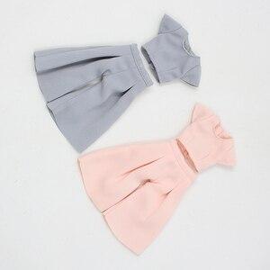 Image 4 - DBS lalki blyth icy różowy garnitur szary garnitur spodnie ubrania
