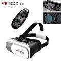 ГОРЯЧАЯ Google картон VR BOX II 2.0 Версия VR Виртуальная Реальность 3D Очки gamesFor 3.5-6.0 дюймов Смартфон + Контроллер Bluetooth