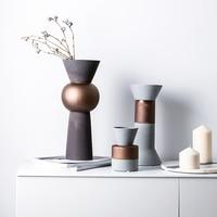 Home Ceramic Vase Nordic Style House Decoration Flower Arrangement Desktop Decoration Matte Matte Design