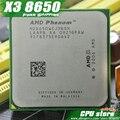 AMD Phenom X3 8650 2.3 ГГц Трехместный Ядро Процессора Socket AM2/AM2 + 940-контактный процессор, 95 Вт L3 = 2 М, бесплатная доставка, есть, продаем X3 8450