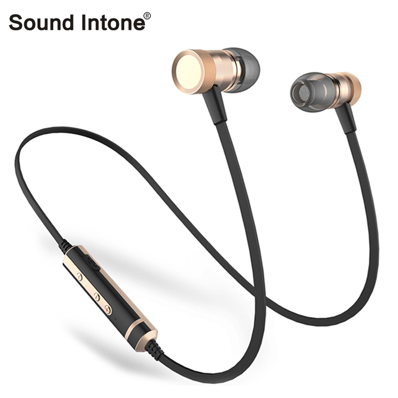 цена на Sound Inone H6s Sport Wireless Earphones Stereo music Bluetooth Earphone with Mic In-ear Headsets for iPhone for Xiaomi For Mp3