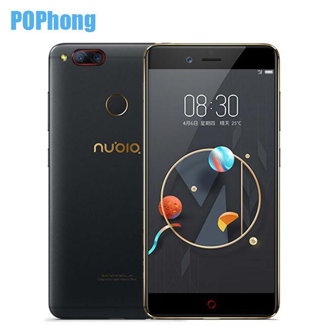 New Nubia Z17 Mini Two Back Camera Smartphone 4GB RAM 64GB ROM 5.2 Inch Snapdragon 652 MSM8976 Dual SIM Cards Ultra Slim