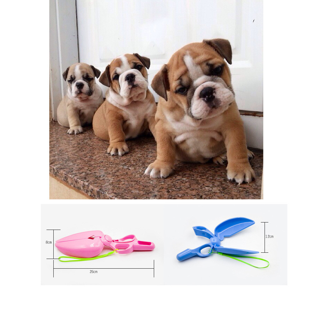 2018 TOP USEFULL Pet Dog Waste Scissor Pooper Scooper Sanitary Tool Pickup Tools  0508