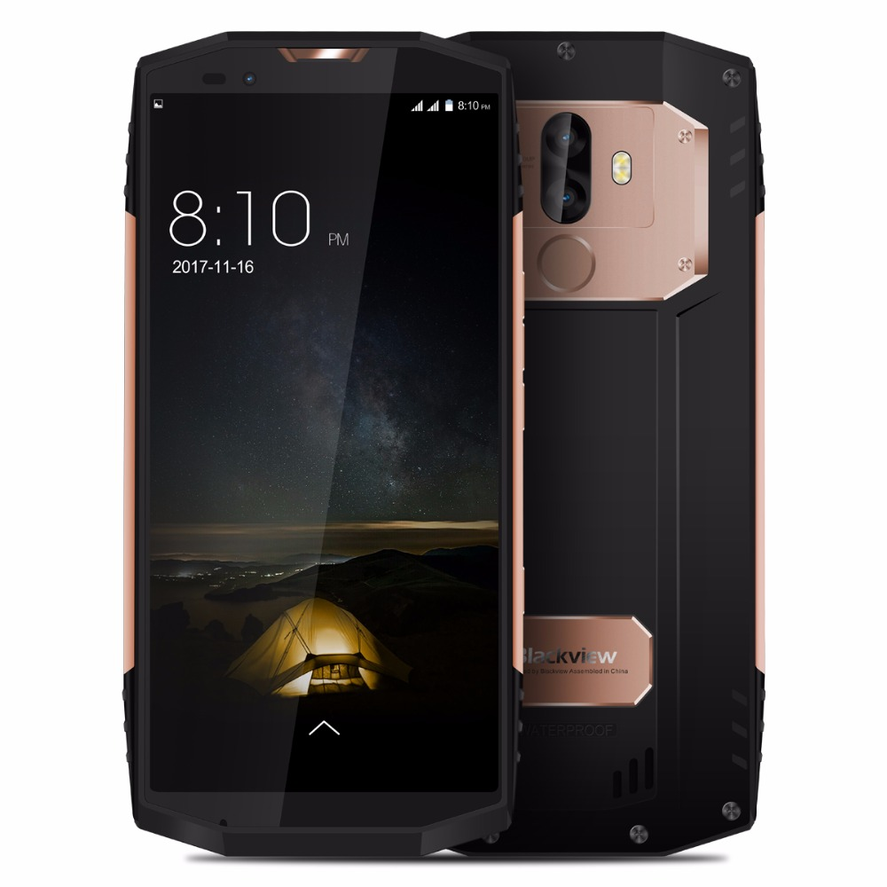 """Blackview BV9000 Pro / BV9000 5.7"""" HD IP68 Waterproof Phone MTK6757CD Octa Core Android 7.1 4/6GB RAM 128GB ROM Shockproof Phone"""