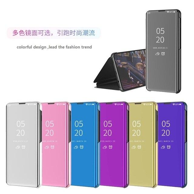 Étui à rabat intelligent pour Xiao mi 9 SE 6 étui de luxe pour mi mi x 3 2 Max 3 étui pour mi Note 3 A1 A2 5X 6X couvercle transparent