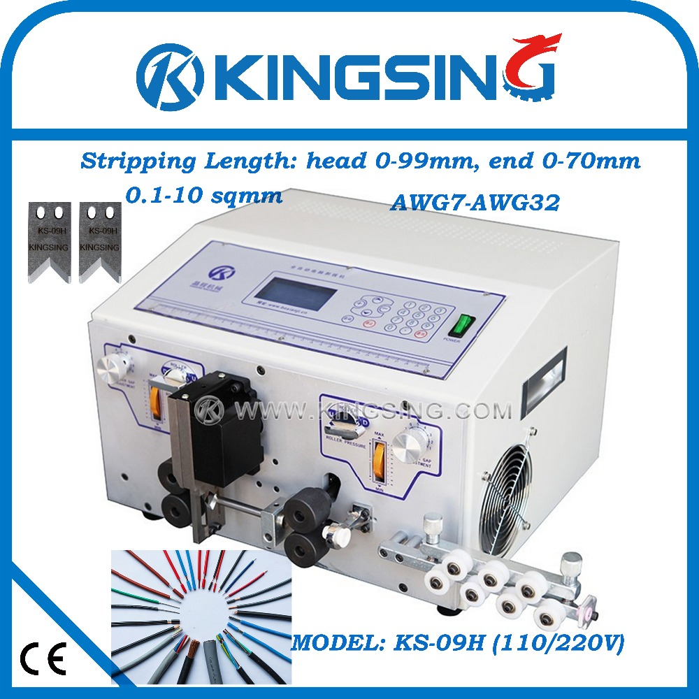 ks 09h ideal best wire harness cutting and stripping machine for various wire harness free shipping by dhl air express [ 1000 x 1000 Pixel ]