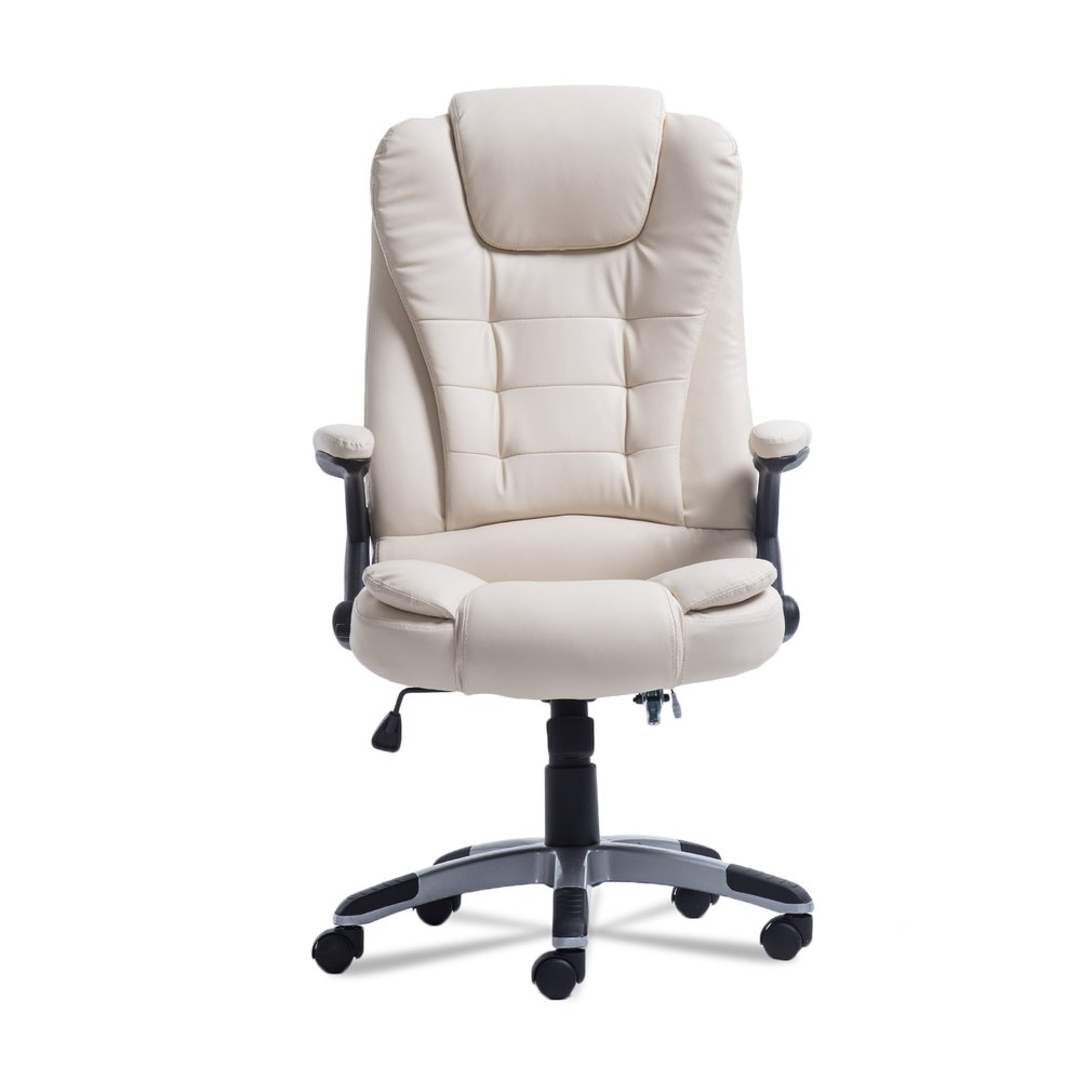 360 Degree Rotation Home Office Computer Desk Executive Ergonomic Height Adjustable 6 Point Wireless Game Massage Chair