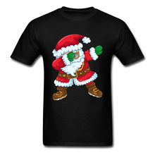 цена на Well Chosen Fashion T Shirts Dabbing Santa Funny Tshirts Hip Hop DJ Dance T-Shirts Men Happy New Year Custom Best Gift Tees
