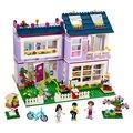 BELA Amigos Serie Emma's House Building Blocks Classic Para La Muchacha Niños Modelo Juguetes Marvel Compatible Legoe