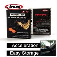 Arashi 12 pacotes de óleo gasolina aditivo injector redutor potência máxima para yamaha mt07 mt 07 acessórios da motocicleta limpeza mais limpa