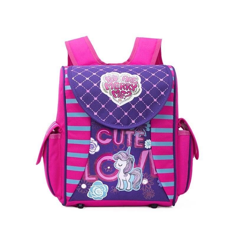 New Baby School Backpack Girls Orthopedic 3D Princess Small Schoolbag Boy Cartoon Car Backpacks Kids Satchels Mochila Infantil
