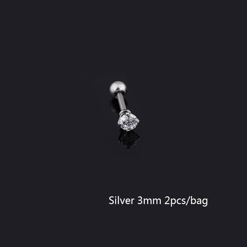 3mm Silver