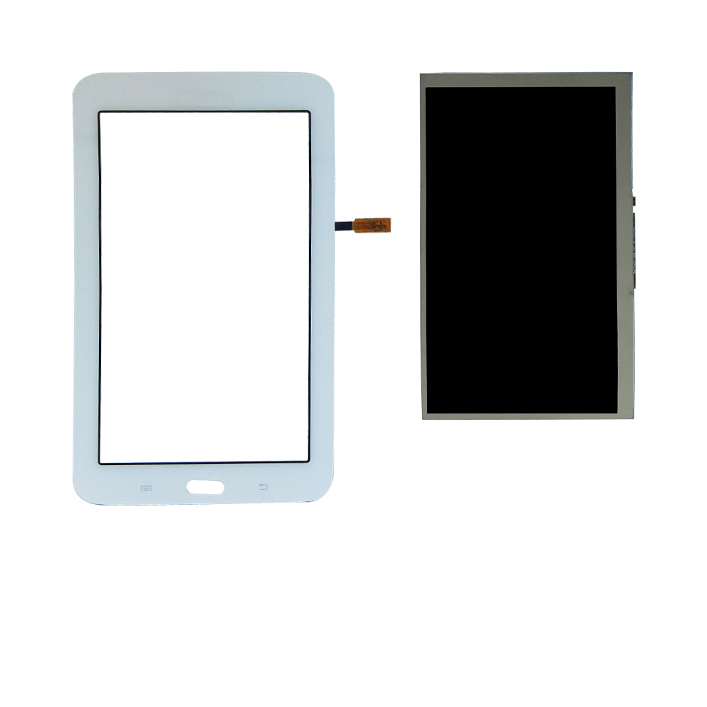 For Samsung Galaxy Tab3 SM-T110 SM-T111 SM-T113 LCD Display Touch Screen Digitizer Front Glass Sensor Replacement +Tools