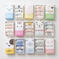 4pcs Cartoon Wholesale Cotton Newborn Toddler Tube Knee Socks Kids Sock For Children New Born Boys