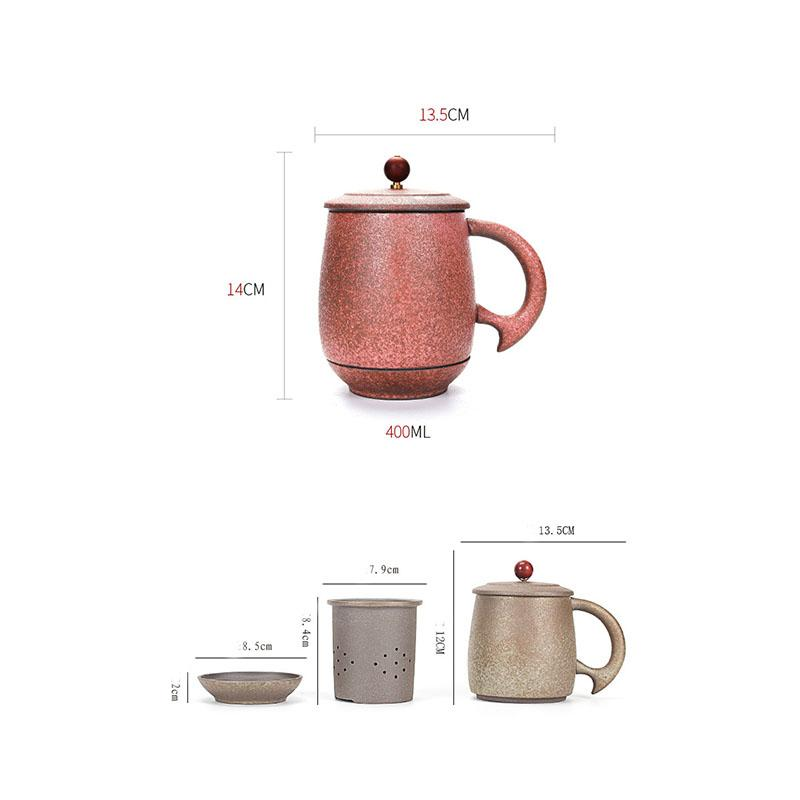 New Chinese Style Outdoor Travel Portable Quick Cup Vintage 1 Teapot 1 Teacup Office Kung Fu Tea Set Brew Tea Maker Gaiwan